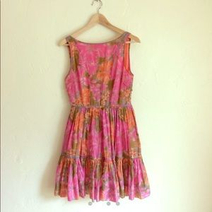 Vintage Inspired Hawaiian Tea Dress Tracy Feith